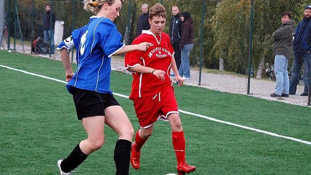 8. kolo III. ženské ligy: Kutná Hora - Uhlířské Janovice, 24. října 2010.