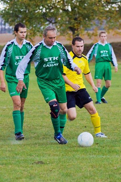 Z utkání III. třídy Miskovice - Horky 4:0, sobota 4. října 2008