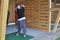 Den otevřených dveří se konal na golfu v Kácově.