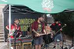 Argentinská kapela El Sonidero & Fanfarria Insurgente vystoupila v Kutné Hoře.