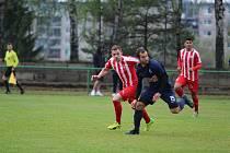 Divizní fotbalové utkání Mšeno - Čáslav