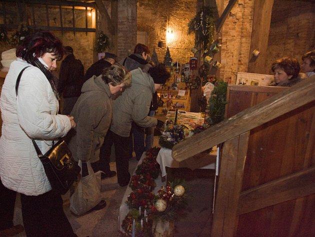 Vánoční slavnosti na zámku Kačina.