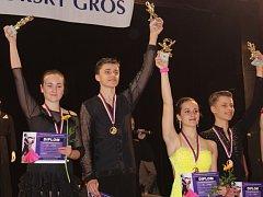 Pohárová taneční soutěž pro páry se konala po sedmnácté.