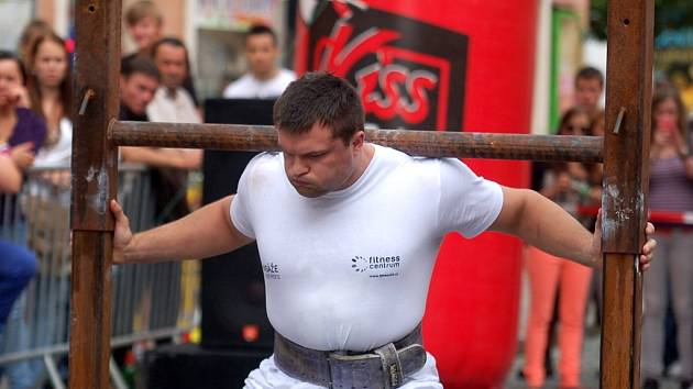 Strongman Kutná Hora 2013 - open, 29. června 2013.