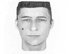 Podezřelý muž je vysoké štíhlé postavy, výšky okolo 175 cm, věk kolem 25 let.
