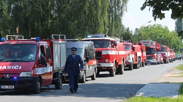 Dobrovolní hasiči v Chotusicích oslavili 140. výročí.