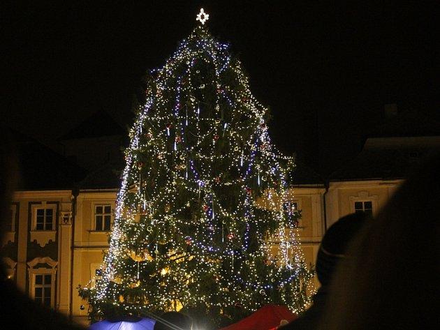 Rozsvícení vánočního stromu v Kutné Hoře