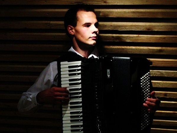 Akordeonista Michal Karban