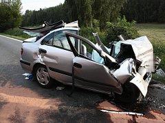 Tragická nehoda u Kaňku