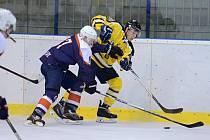 16. kolo krajské hokejové ligy: Sršni Kutná Hora - HC Poděbrady 4:5.