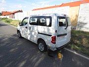 Dopravní nehoda se stala v čáslavské ulici Žacká.