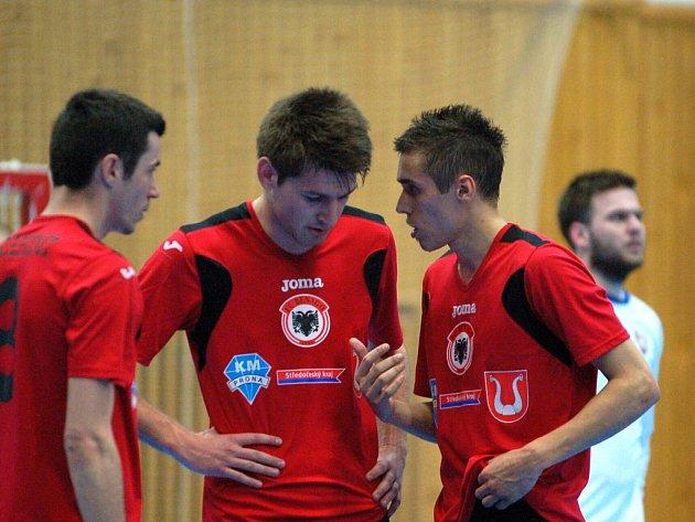 4. zápas čtvrtfinále: FC Benago Zruč n. S. - FC Tango Brno 1:6, 20. dubna 2012.