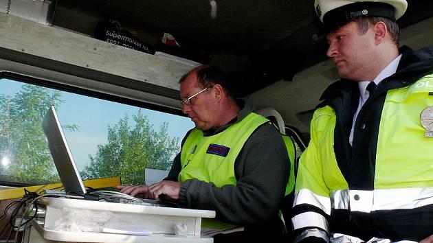 Kontroly kamionů u Čáslavi