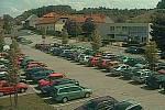 Záběr z kamery v Čáslavské ulici v Kutné Hoře.