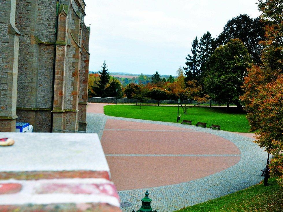 Kutnohorské památky bez návštěvnického ruchu v době nouzového stavu.
