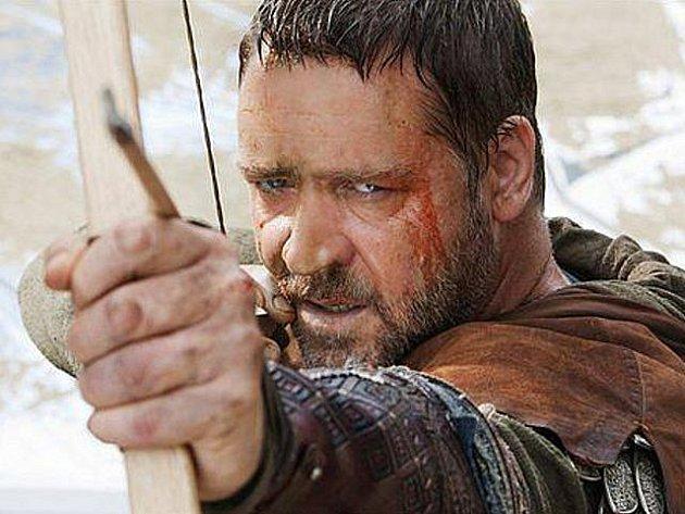 Russel Crowe jako Robin Hood.