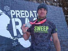 Tomáš Tvrdík vyhrál zimní překážkový závod v Krušných horách.