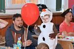 Dětský karneval v Chlístovicích.