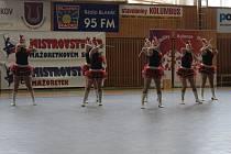 Kvalifikační kolo v mažoretkovém sportu ve Zruči nad Sázavou