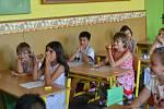 Předávání vysvědčení na Základní škole Kamenná stezka v Kutné Hoře