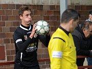 Zápas krajského fotbalového přeboru vyhrála Kutná Hora 2:1 nad Tuchlovicemi.