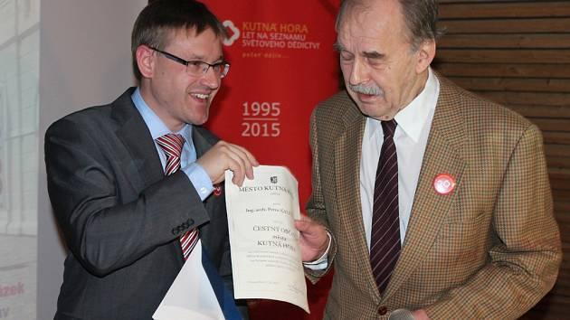 Slavnostní zakončení oslav 20. výročí vstupu Kutné Hory do UNESCO v galerii GASK.