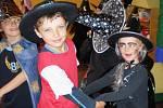 Z čarodějnického karnevalu v Mateřské škole Dačický v Kutné Hoře.