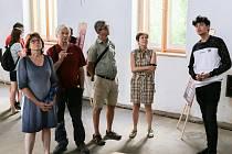 Ze zahájení druhé sezony synagogy v Čáslavi.
