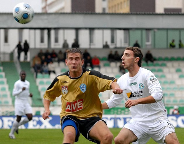 Fotbal II. liga: Most - Čáslav 1:1, neděle 11. října 2009