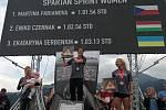 Martina Fabiánová vyhrála Spartan Race Sprint v rakouském Oberndorfu.