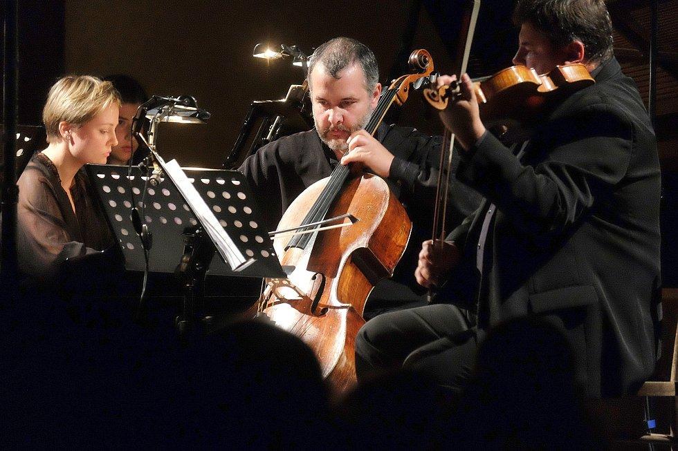 Mezinárodní hudební festival Kutná Hora: Terezie Fialová (zleva), Lukáš Polák, Karel Untermüller.