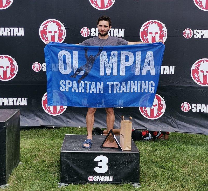 Olympia Spartan Training Kutná Hora v Liberci. Na snímku třetí ze Supru Jakub Vrbenský.