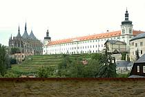 Kutnohorské panorama. Ilustrační snímek.