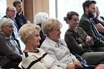 Z narozeninového setkání s dlouholetým starostou spolku Včela Čáslavská Petrem Charvátem.