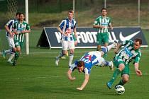 Dohrávka 18. kola Fotbalové národní ligy: Čáslav - Bohemians Praha 0:0, 17. dubna 2013.