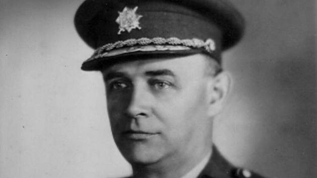 Generál František Moravec, čáslavský rodák.