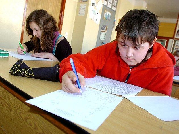 Pythagoriáda na Základní škole Jana Palacha v Kutné Hoře. 24. 3. 2011