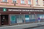 Informační centrum v Kollárově ulici v Kutné Hoře.