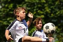 Nohejbalový turnaj mládeže v Čáslavi ovládl Český Brod.