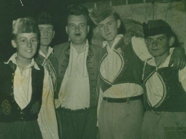 Představení Naši furianti, 1960.