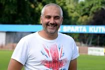 Nový trenér divizních fotbalistů Kutné Hory Radek Kulhánek.