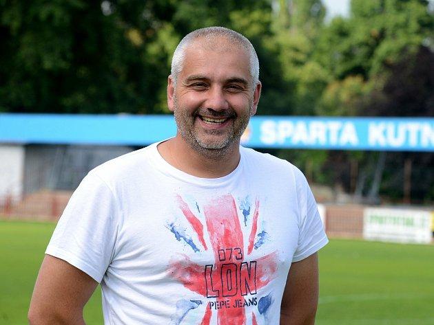 Fotbalový trenér Radek Kulhánek.