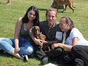 Oblastní výstava psů všech plemen se konala na Zámku Kačina.