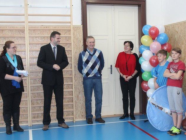 Základní škola T.G.Masaryka má novou tělocvičnu