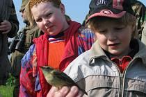 Milovníci ptactva se sešli na břehu Vavřineckého rybníka ve Vavřinci.