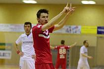 17. kolo Chance futsal ligy: Chrudim vs. Benago Zruč n. S. 3:3, 3. února 2017.