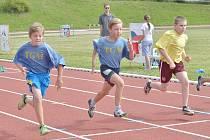 Městské hry v Kutné Hoře, Atletika SKP Olympia - 17.června 2014