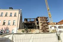 Sanační práce na Černém koni v Kutné Hoře pokračují.