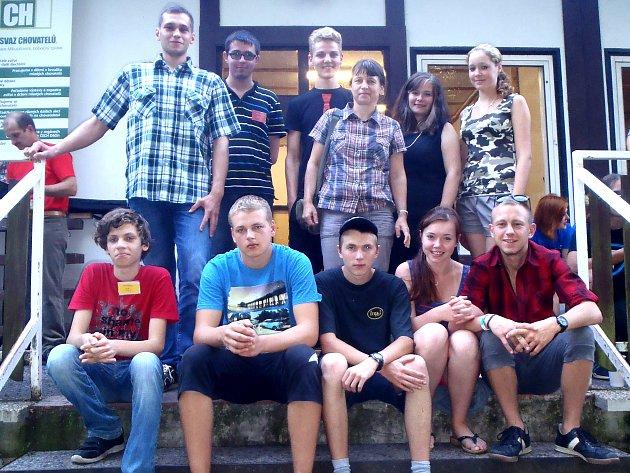 Účastníci celonárodního kola v Rumburku