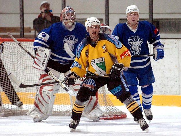 Kolín - Kutná Hora, první zápas play off druhé hokejové ligy, 10. 3. 2010